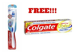 colgate 360 toothbrush and toothpaste 300x220 FREE Colgate Toothbrushes and Toothpaste at Walgreens!