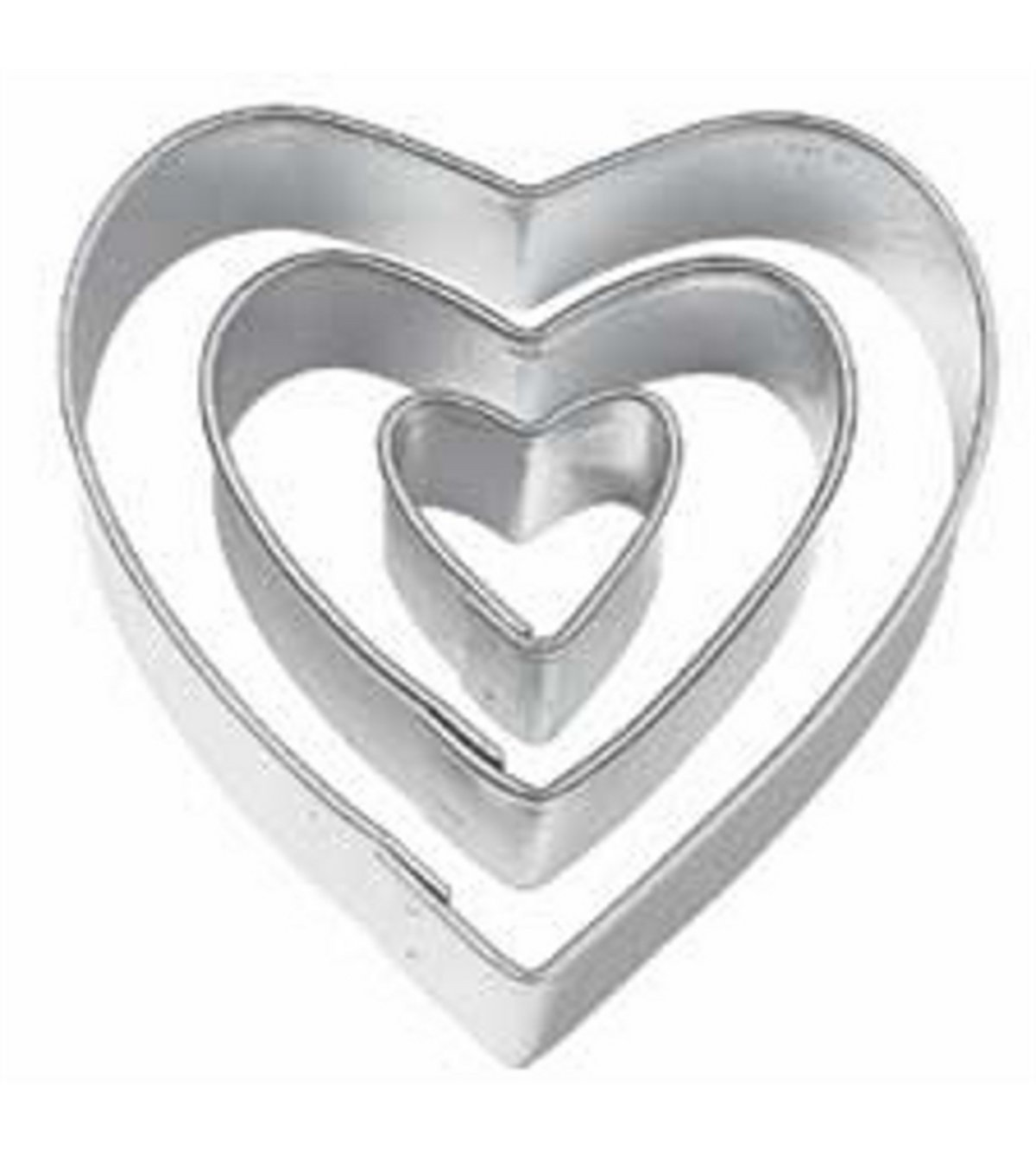 HEART SHAPED COOKIE CUTTER DOLLAR STORE