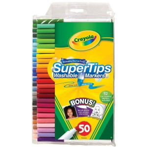 crayola 300x300 Crayola 50ct Washable Super Tips with Silly Scents Only $7.66 Shipped (reg. $12.99)!