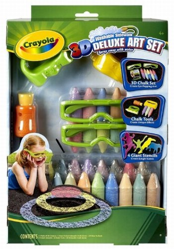 crayola 3d art Crayola 3D Deluxe Art Set only $12.27 (reg $23.33)