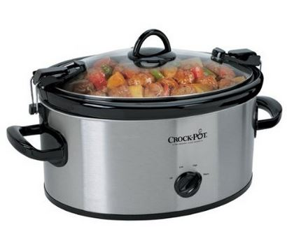crock pot 6 Quart Cook N Carry Crock Pot Just $23.99 (reg. $49.99)