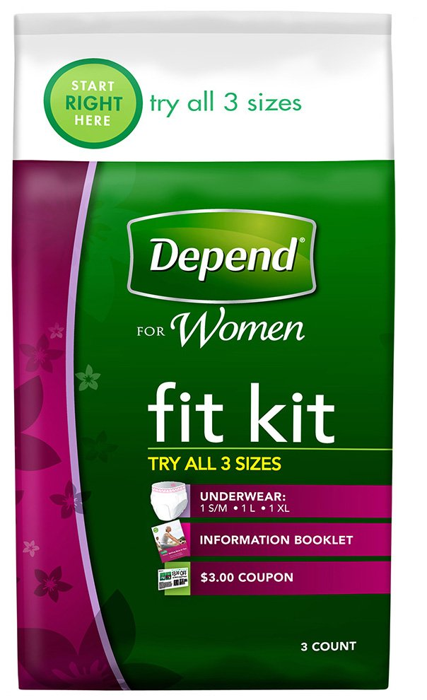 depends FREE Depends Fit Kit + $1 Moneymaker at Rite Aid!
