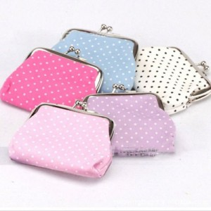 Change Purse, clutch, Coin Purse, Fashion Accessories, free shipping, Hot Amazon Deals, Polka Dot Coin Purses in Multiple Colors Only $0.51 Shipped, wallet
