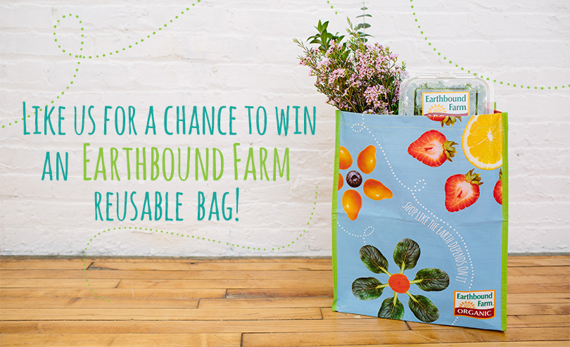earthbound FREE Earthbound Farms Reuseable Shopping Bag Giveaway! 12,000 Winners!
