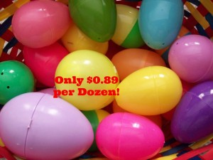 easter eggs 300x225 *HOT* Plastic Easter Eggs Only $0.89 per Dozen at Target!