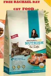 free Rachel Ray cat food 201x300 FREE Sample of Rachael Ray Natural Dry Cat Food!