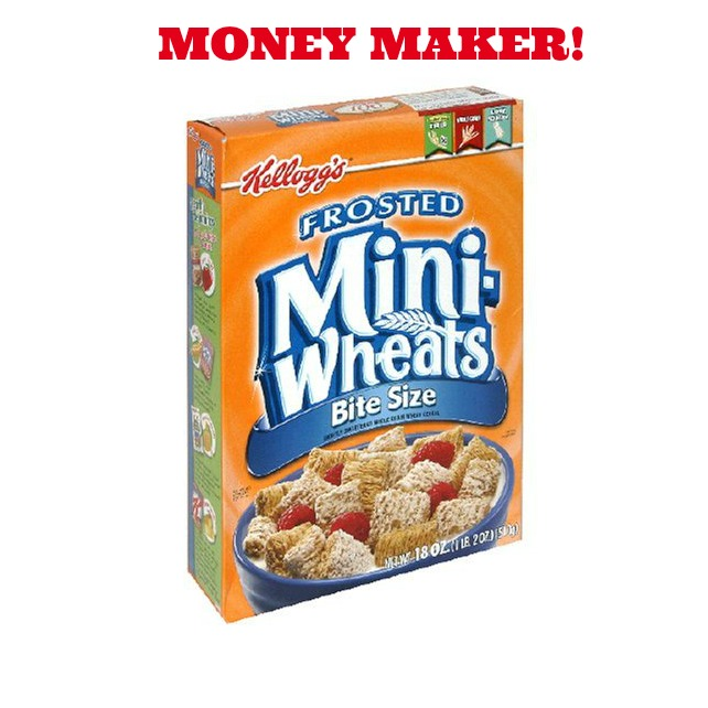 frosted mini wheats Free Kelloggs Frosted Mini Wheats plus Money Maker at Target!