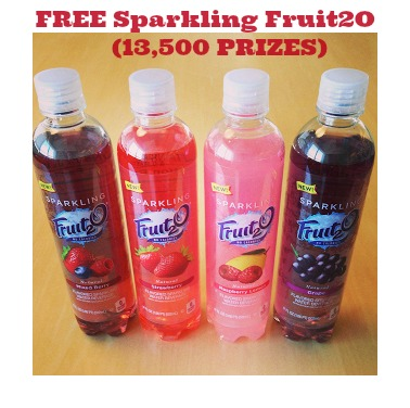 fruit 20 giveaway11 FREE Bottles of Fruit2O Products (13,500 Winners!)