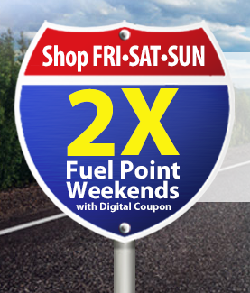 Kroger: 2X Fuel Points on Weekends eCoupon (Through 7/27), Kroger Coupons, Extra Fuel Points, Double Fuel Points, eCoupons, Kroger Store Coupons