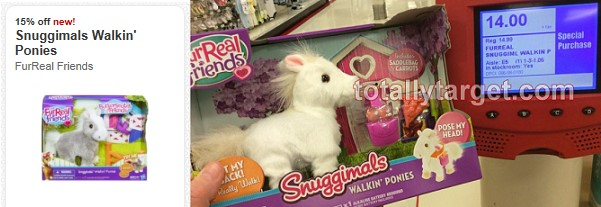 furreal toys at Target FurReal Friends Butterscotch My Walkin Ponies and Snuggimals Just $5.93 Each!