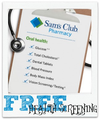 health screening 300x276 Free Healthy Aging Health Screening at Sam's Club on 7/12!