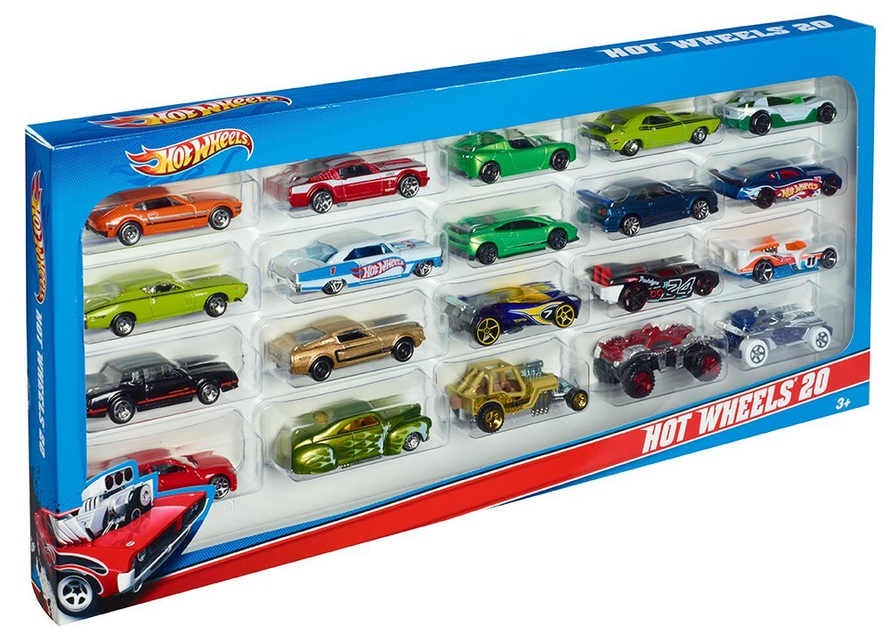 Toys For 20 : Hot wheels car gift pack only reg