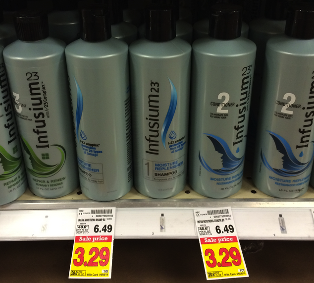 infusium Infusium Hair Care Only $1.29 at Kroger!