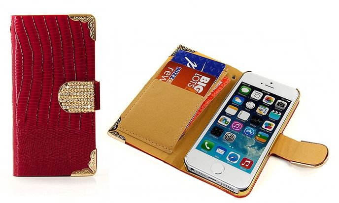 iphone wallet Crystal Wallet Case for iPhone only $8.99 (reg $27.12)