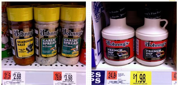 johnny FREE Johnny's Product at Walmart!