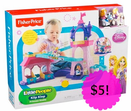*HOT* Little People Disney Princess Klip and Klop Stable Only $5 at Meijer (Reg. $34), Hot Toy Deals, Hot Meijer Deals, High Value Toy Coupons