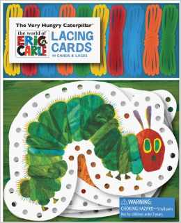 lacing cards The Very Hungry Caterpillar Lacing Cards Only $7.87 (reg. $15)