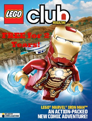 lego club FREE 2 Year Subscription to LEGO Club Magazine!