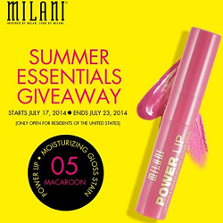 milani Milani Summer Essentials Giveaway! 700 Winners!
