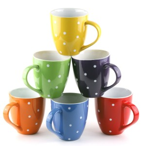 mugs1 292x300 Set of 6 Large sized 16 Ounce Ceramic Coffee Mugs Only $14.97 (Reg. $59.95!)