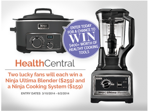 ninja Win a Ninja Ultima Blender & Ninja Cooking System!