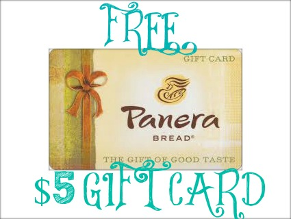 paneragiftcard FREE $5 Gift Card for Starbucks or Panera Bread!