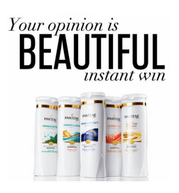 pantene Instantly Win 1 of 401 FREE Full Sized Pantene Products!