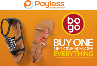 payless Payless Shoes: Buy One Get One 50% Off + Extra 20% Off + FREE Shipping!