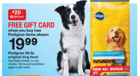 pedigree deal *HOT* 80 lbs. of Pedigree Dog Food for Only 17.98 at Target!