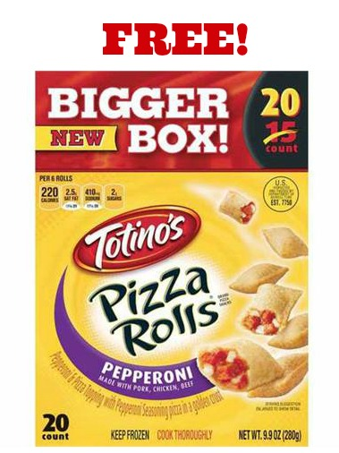 pizza rolls Free Totinos Pizza Rolls at Walmart!