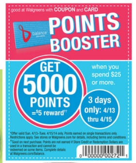 points booster $30 Worth of Items for FREE at Walgreens!