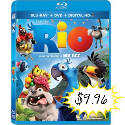 rio2 Rio Blu ray Combo Pack Only $9.96 + FREE Store Pick Up!