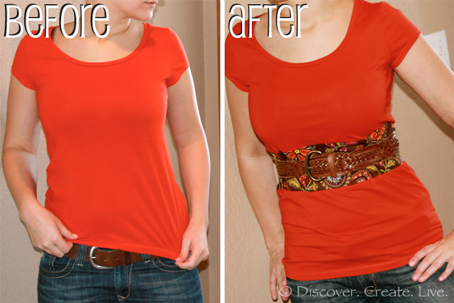 shirt lengthen DIY: How to Lengthen a Shirt That is Too Short!