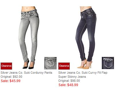 silver jeans Silver Jeans as low as $37 (reg $98)