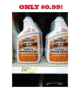 spectracide Spectracide Weed & Grass Killer Spray Only $.99 at Walmart!