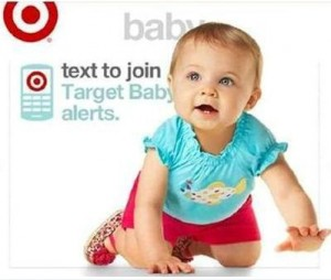 target baby mobile coupons NEW Mobile Baby Coupons from Target!