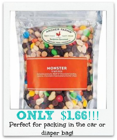 trail mix Archer Farms Trail Mix Only $1.66 a Bag at Target!