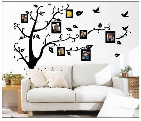 Epic Tree Vine Branch Picture Frame Removable Wal