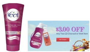 veet rite aid 300x175 Veet Hair Remover Cream Only $1.99 at Rite Aid!