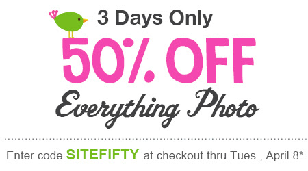 walgreensphoto Walgreens Photo: 50% off Everything Photo!