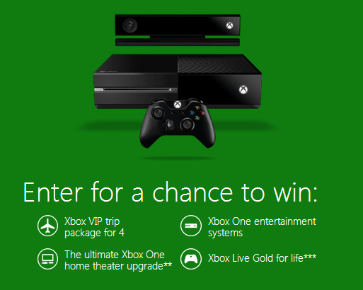 xbox Xbox Get the Most With Xbox Live Instant Win Game! 3500 Xbox Prizes!