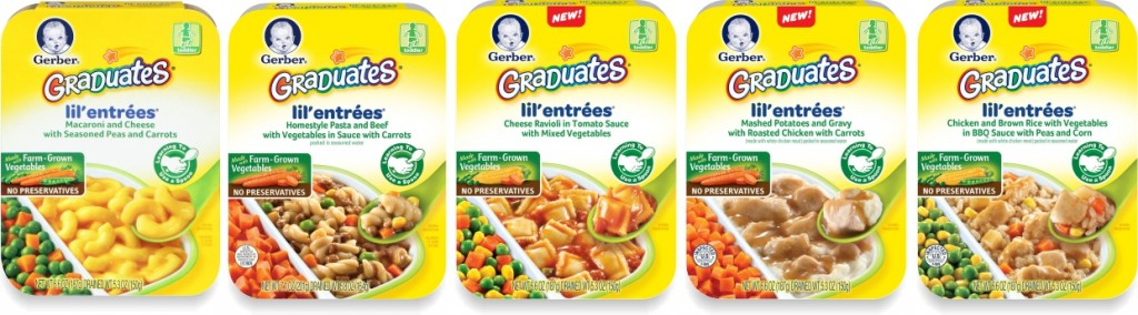 Gerber Grads Monthly Sept 2013 products2 1024x284 Gerber Graduates Lil' Entrees As Low As $1.65 Each at Walmart and Target