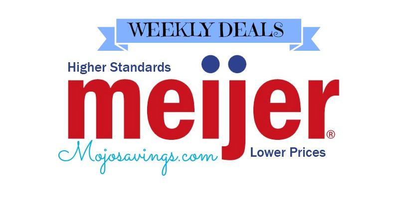 MEIJER Meijer Deals Week of 7/27