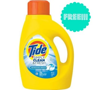 Tide Simply Clean Fresh 300x290 HOT! FREE Tide Detergent at CVS!!!