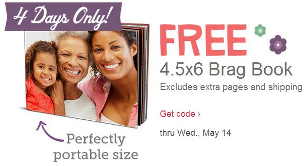 brag book3 ENDS TONIGHT   FREE Photo Brag Book From Walgreens!