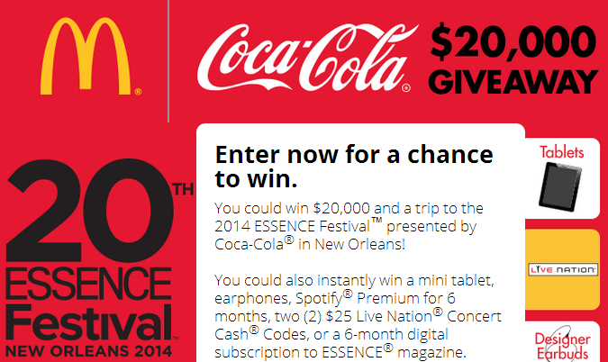 coca cola sweepstakes coca cola mcdonald s sweepstakes instant win game 6769