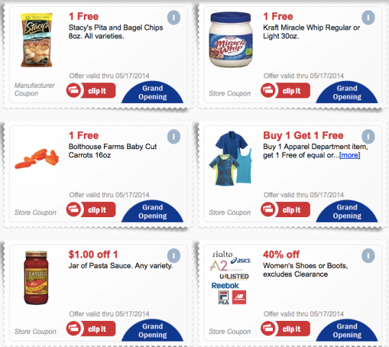 coupons HOT! FREE Food Product Coupons at Meijer!