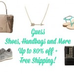 guess apparel, guess sale, 6pm guess sale, free shipping, guess shoes, guess handbags