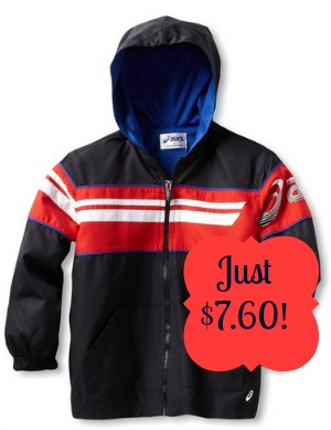 jacket2 ASICS Little Boy Track Jacket only $7.60!