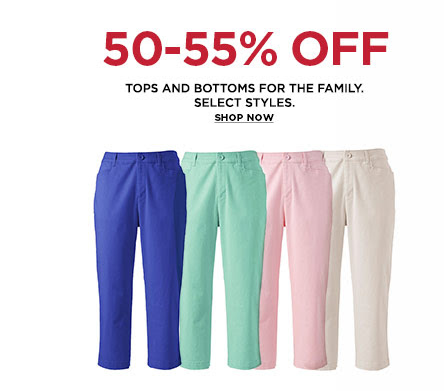 kohls Kohls: $10 Back on a $50 Purchase + 55% Off Clothing, 55% Off Shoes and More!